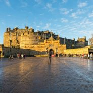 La ciudad medieval de Edimburgo a pie
