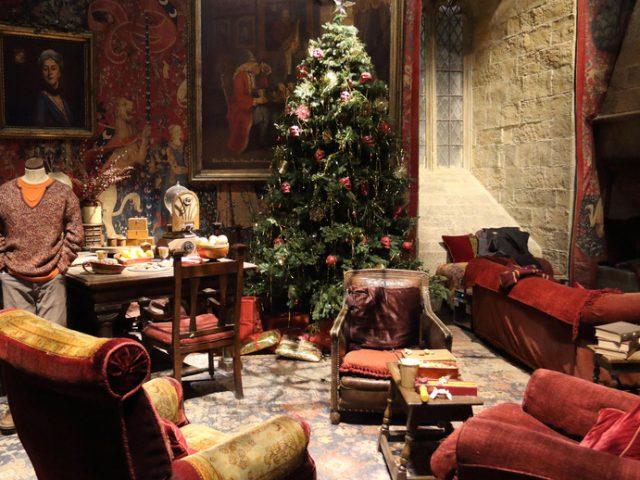 El Gran Comedor de Hogwarts abre para ti estas Navidades