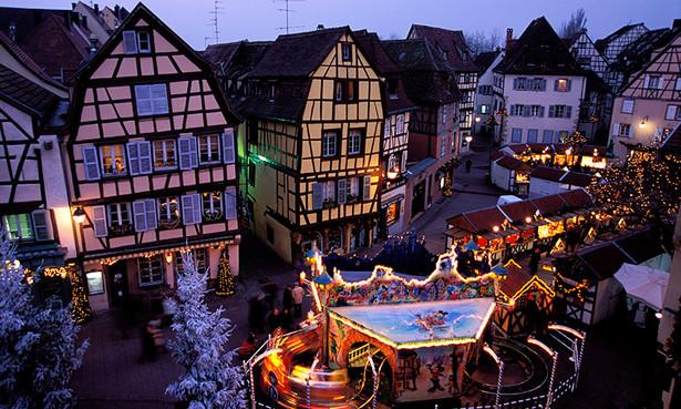 Cinco mercadillos de Navidad en Alsacia