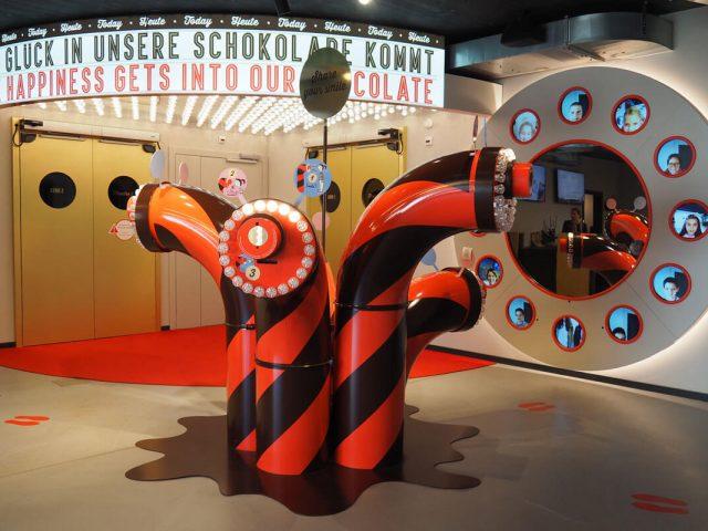 La fábrica de chocolate suizo al estilo Willy Wonka
