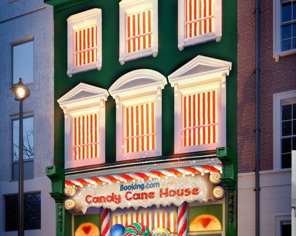 Candy Cane House, el alojamiento más dulce
